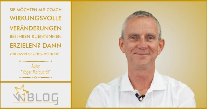 Sie möchten als Coach wirkungsvolle Veränderungen bei Ihren Klient:innen erzielen? Dann vergessen Sie «Ihre» Methode…